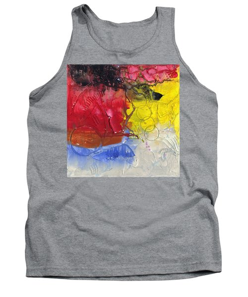 Wounded Tank Top by Phil Strang