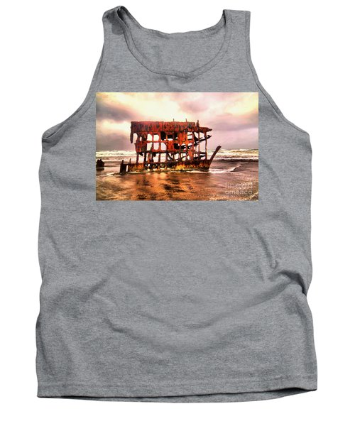 Wreck Of The Peter Iredale  Tank Top