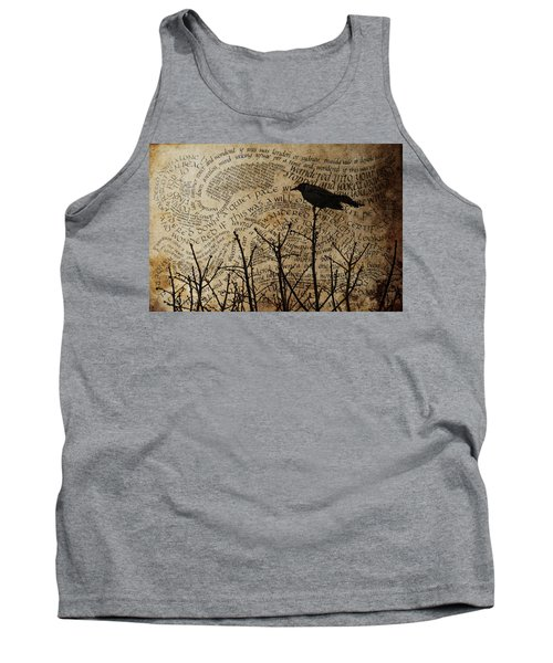 Tank Top featuring the photograph Written On The Wind by Jan Amiss Photography