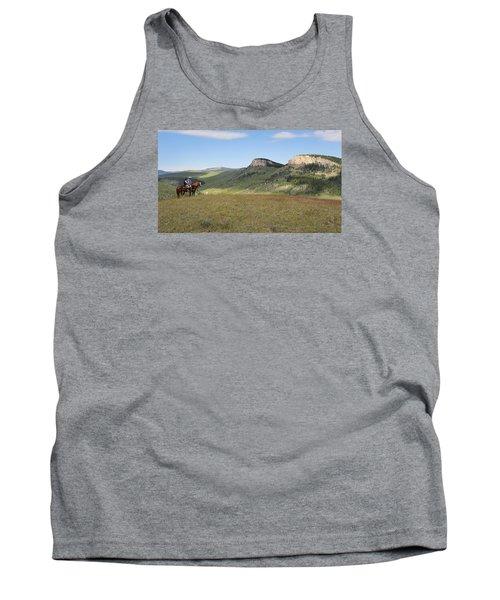 Wyoming Bluffs Tank Top by Diane Bohna