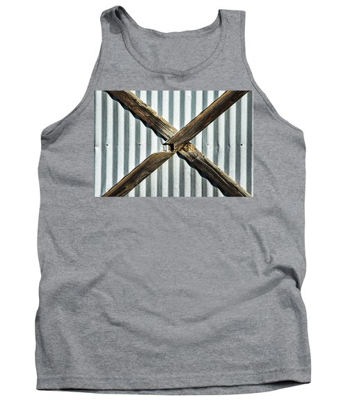Tank Top featuring the photograph X Marks The Spot by Karol Livote