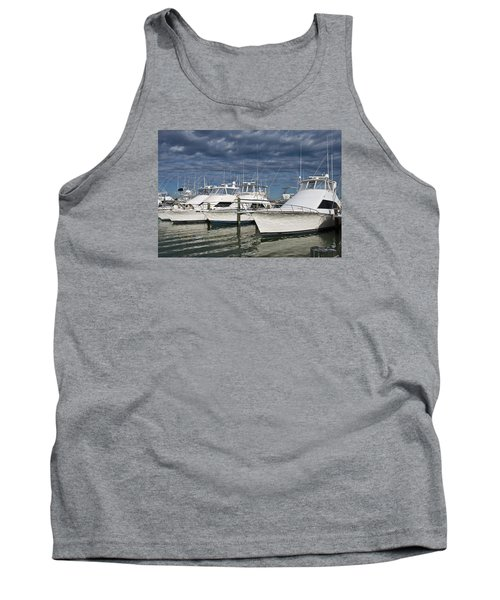 Yachts At The Dock Tank Top