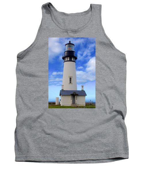 Tank Top featuring the photograph Yaquina Head Lighthouse by Todd Kreuter
