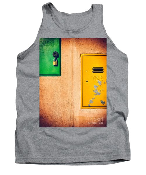 Tank Top featuring the photograph Yellow And Green by Silvia Ganora