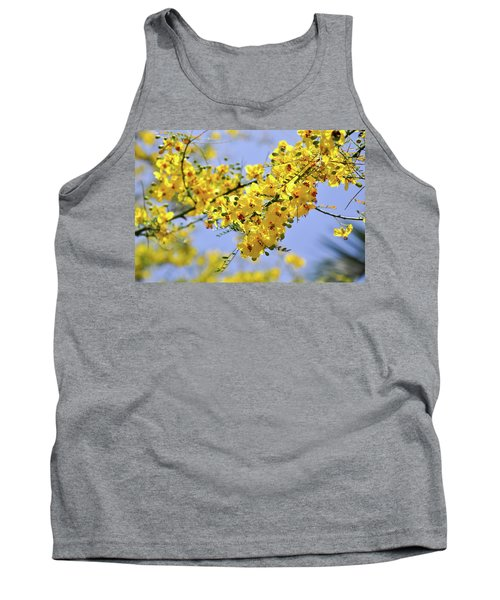 Yellow Blossoms Tank Top