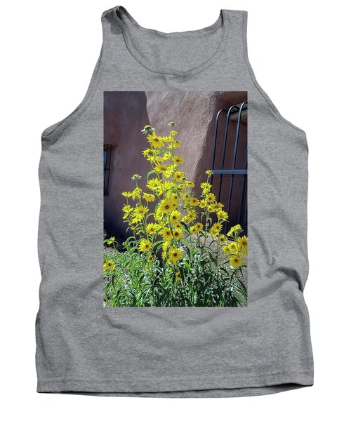 Yellow Composites At Ghost Ranch  Tank Top