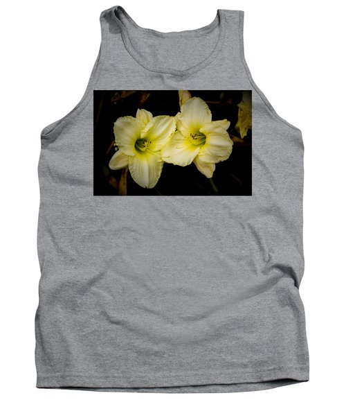 Yellow Day Lilies Tank Top