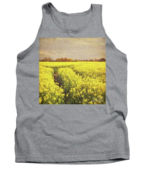Yellow Field Tank Top by Lyn Randle