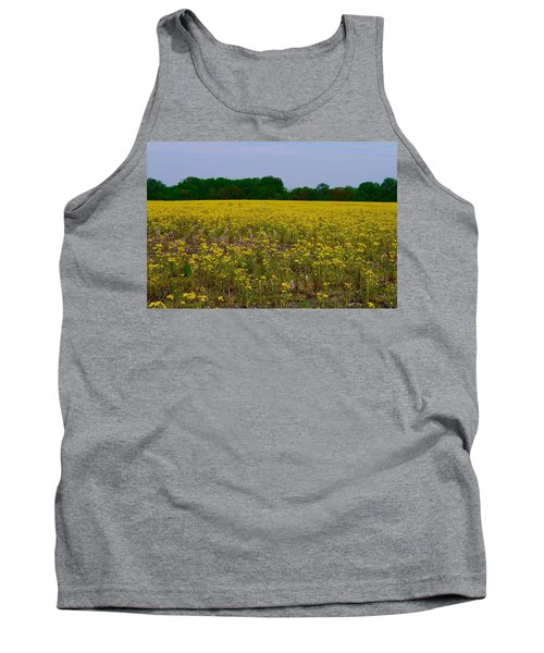 Yellow Field Tank Top
