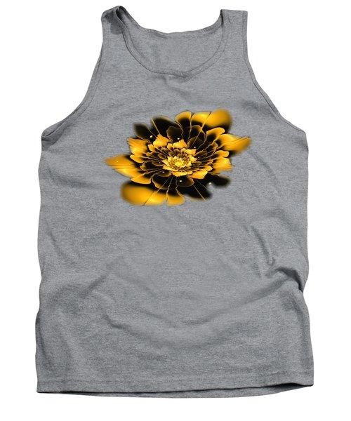 Yellow Flower Tank Top by Anastasiya Malakhova