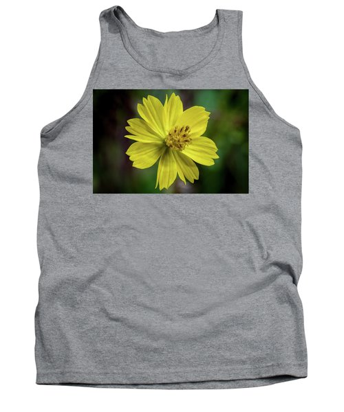 Yellow Flower Tank Top