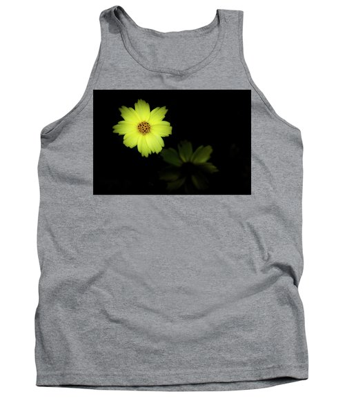 Yellow Flower Tank Top by Jay Stockhaus