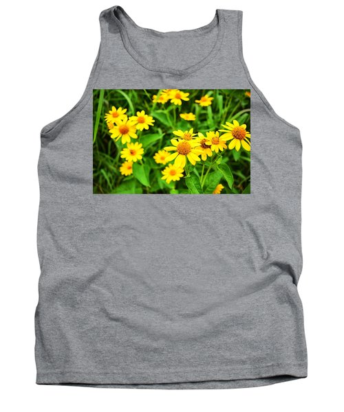 Yellow Flowers No. 2 Tank Top