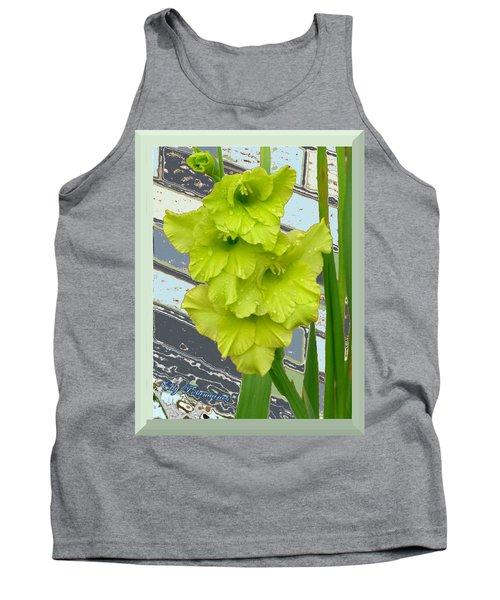 Yellow Gladiolas Tank Top