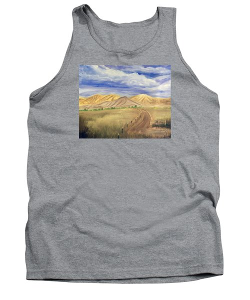 Yellow Hills Of Jensen Tank Top