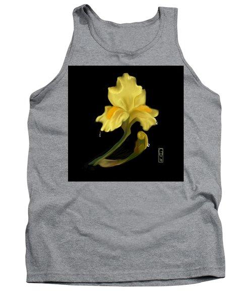 Yellow Iris Tank Top