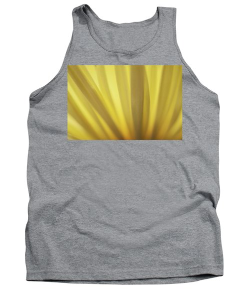 Yellow Mum Petals Tank Top