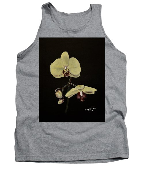 Yellow Orchid Tank Top