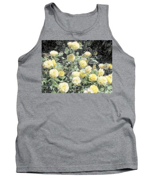 Yellow Roses Tank Top