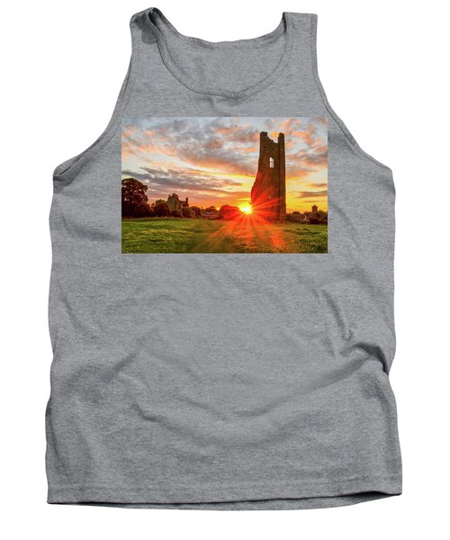 Yellow Steeple Star Tank Top