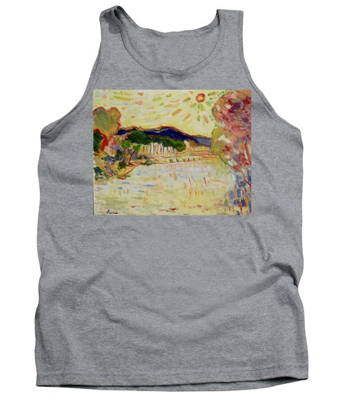 Beynac Et Cazenac , Dordogne , Yellow Sunshine  Tank Top