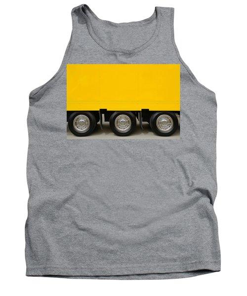 Yellow Truck Tank Top