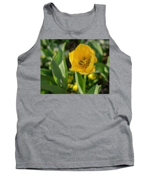 Yellow Tulip Tank Top