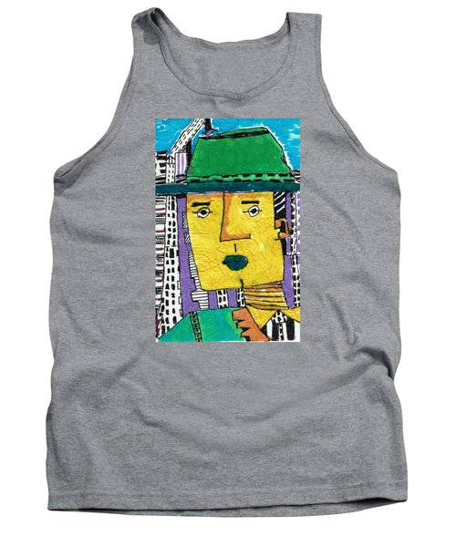 Tank Top featuring the tapestry - textile Yellowman by Don Koester