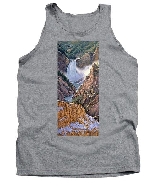 Yellowstone Canyon-osprey Tank Top