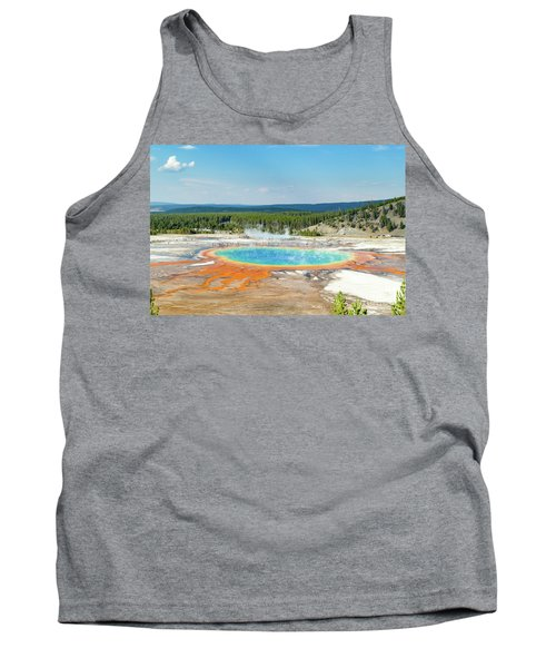 Yellowstone Grand Prismatic Spring  Tank Top