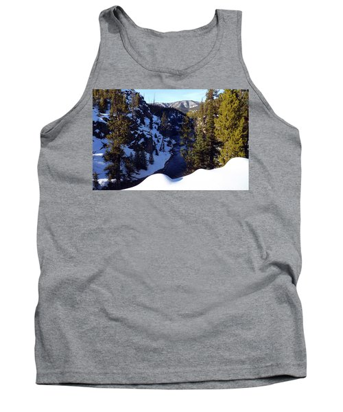 Yellowstone In Winter Tank Top by C Sitton