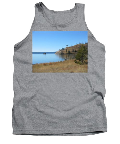Yellowstone Lake Se Tank Top