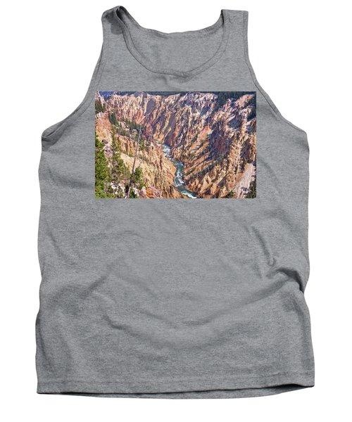 Yellowstone River Tank Top