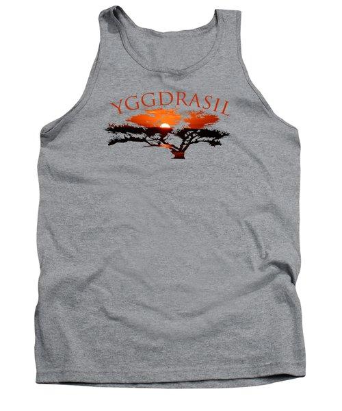 Yggdrasil- The World Tree Tank Top