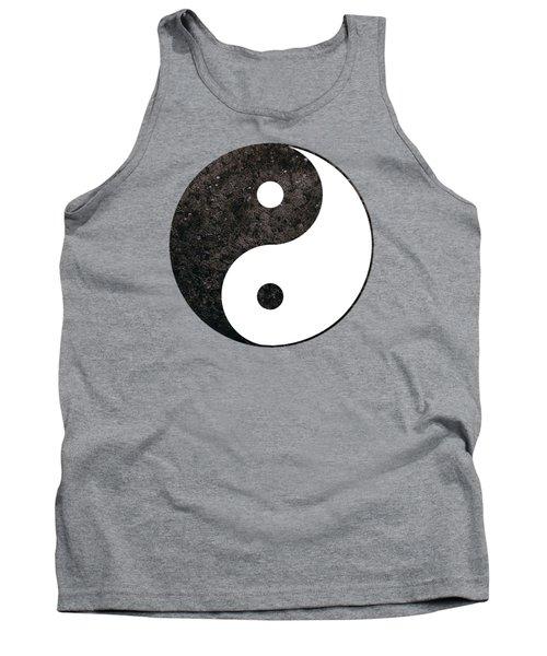 Yin Yang Symbol Tank Top