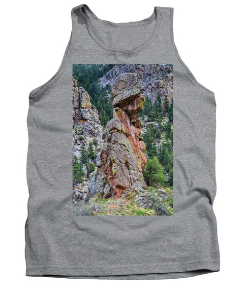Tank Top featuring the photograph Yogi Bear Rock Formation by James BO Insogna