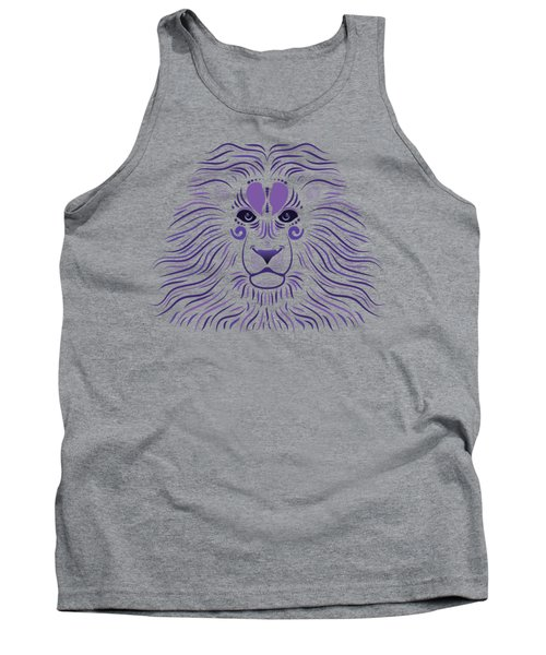 Yoni The Lion - Dark Tank Top by Serena King
