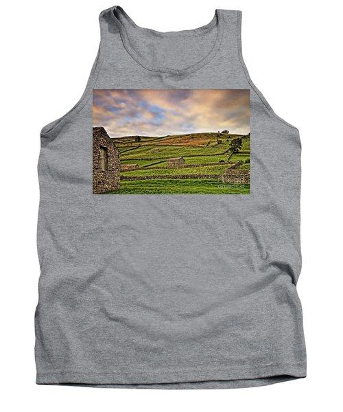 Yorkshire Dales Stone Barns And Walls Tank Top