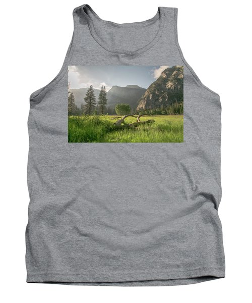 Sundown On The Valley Tank Top by Ryan Weddle