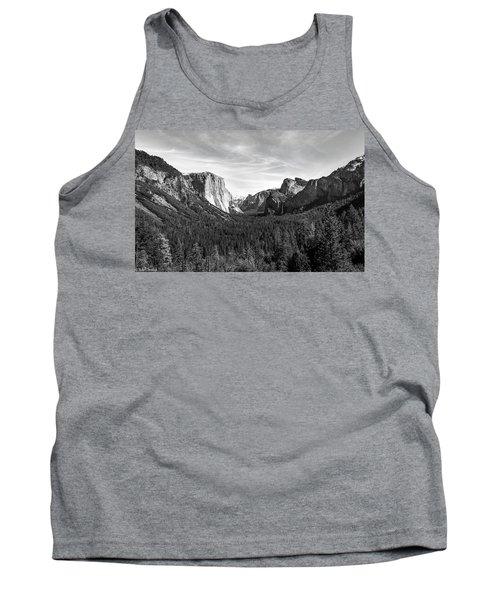 Yosemite B/w Tank Top