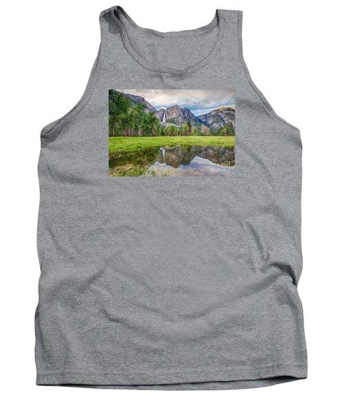 Yosemite Falls And Reflections 2 Tank Top
