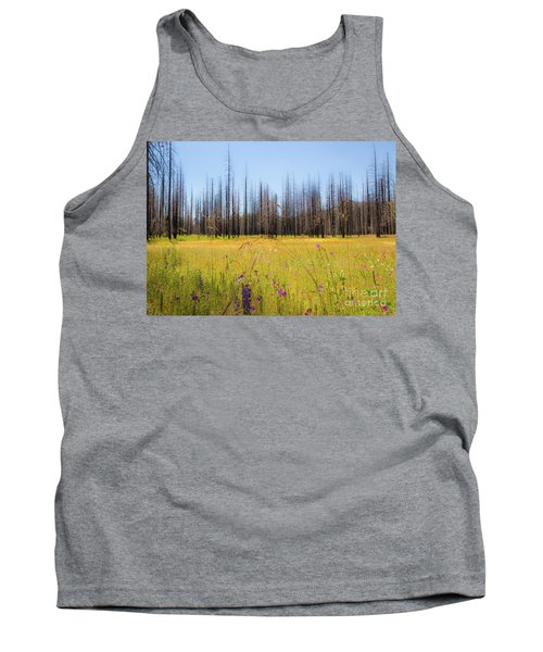 Yosemite Juxtaposition By Michael Tidwell Tank Top