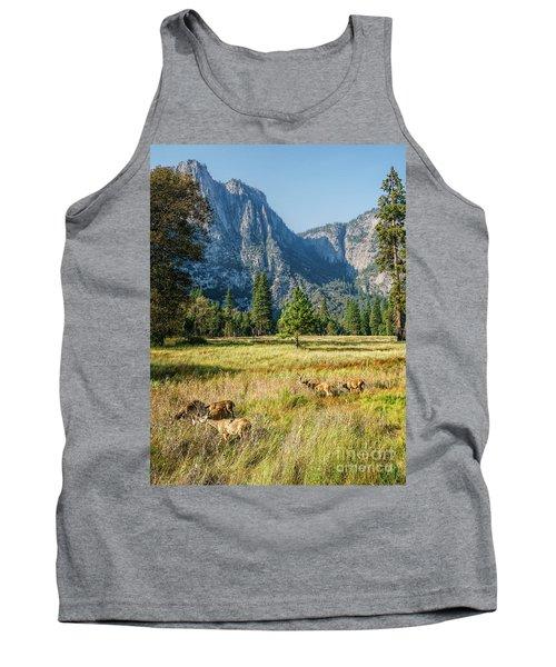 Yosemite Valley At Yosemite National Park Tank Top