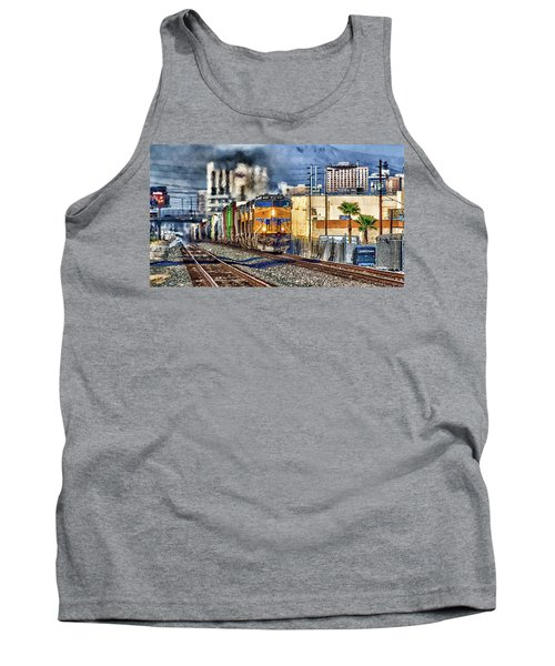 Tank Top featuring the photograph You Can Go Your Own Way by Michael Rogers