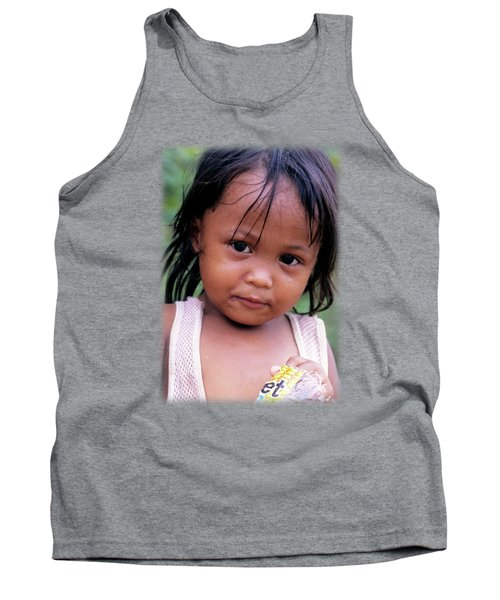 Young Filippino Lady Tank Top