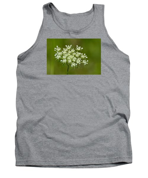 Tank Top featuring the photograph Young Queen Anne's Lace  by Lyle Crump