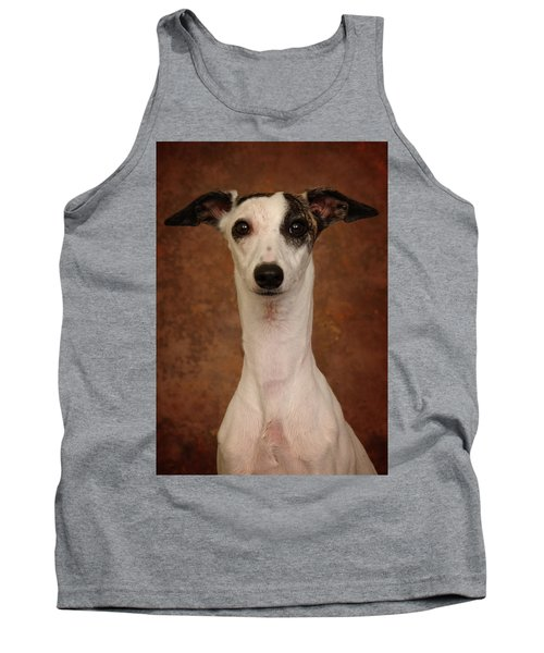 Tank Top featuring the photograph Young Whippet by Greg Mimbs