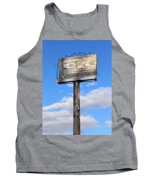 Your Ad Is Here Tank Top