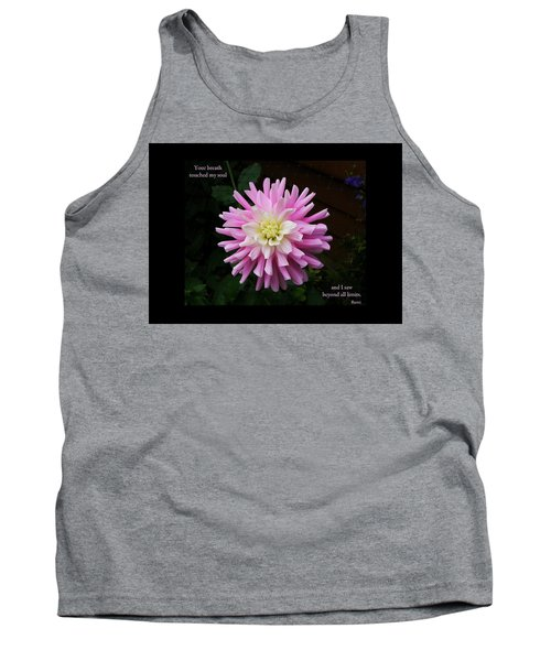 Tank Top featuring the photograph Your Breath Touched My Soul by Rhonda McDougall