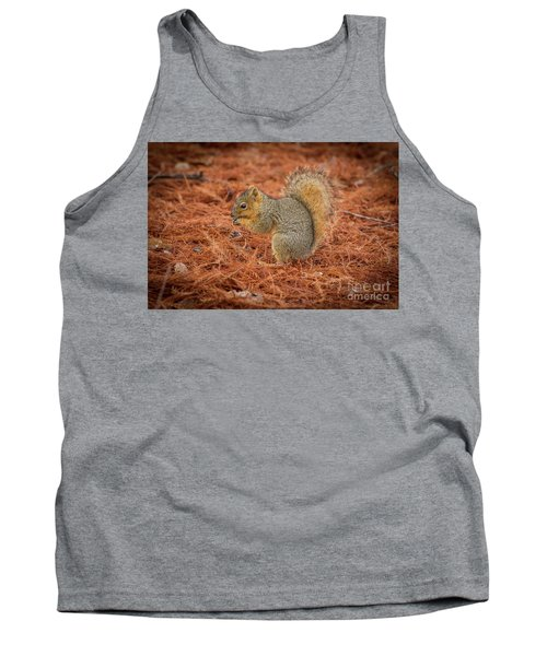 Yum Yum Nuts Wildlife Photography By Kaylyn Franks     Tank Top